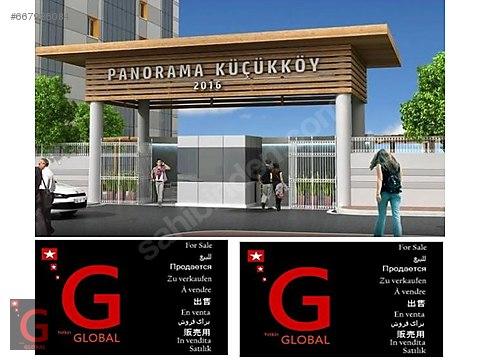 للبيع FOR SALE KÜÇÜKKÖY PANORAMA 3+1 MANZARALI...