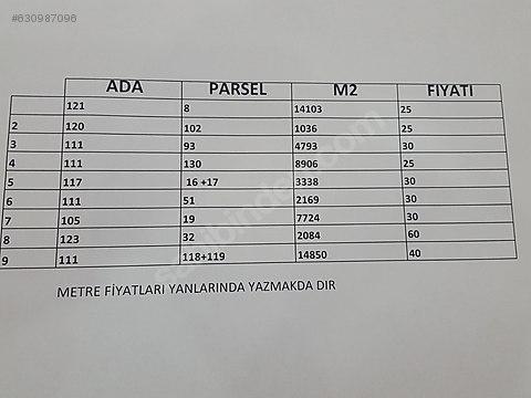 HACIBEY EMLAK'DAN CİP DE SATILIK TARLALAR