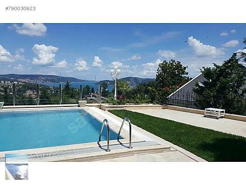 870 m2 Boğaz Manzaralı, Havuzlu Özel Villa