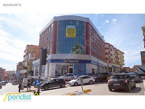 Ankara Caddesi Üzerindeki Lüks Plazamızın Katlarını...