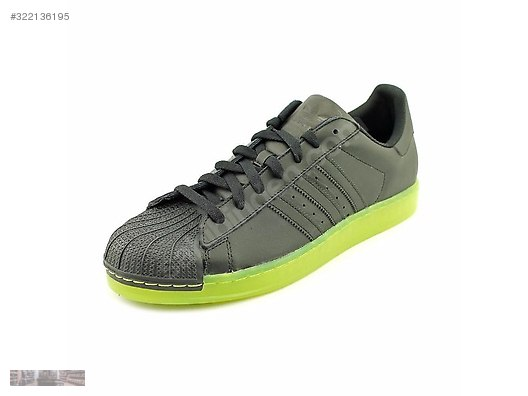 check out 7e54c ea73b Adidas Originals Superstar CLR Black Electricity Neon Q22999  322136195