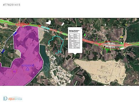 Badırga'da İki Sanayi Arasında Satılık 2.850 m2 Yatırımlık Tarla