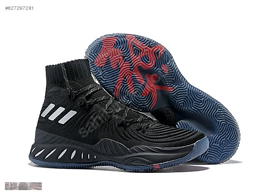 6fe447c154d ADIDAS CRAZY EXPLOSIVE BOOST PK BASKETBALL BLACK SHOES BY4476  627297281