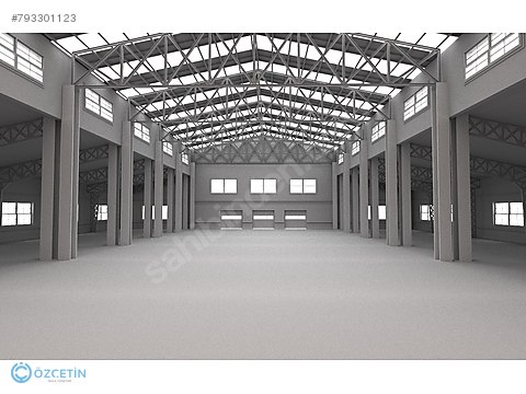 ÖZÇETİN'DEN KESTEL'DE KİRALIK TEK KAT 4000 m² FABRİKA
