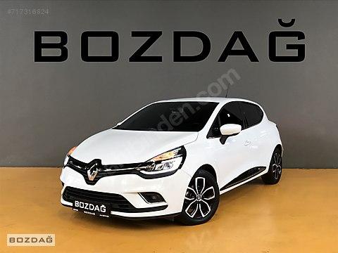 BOZDAĞ'dan 2018 BOYASIZ HASAR KAYITSIZ ICON DIZEL OTOMATİK CLIO