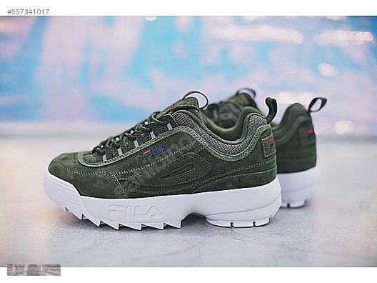fila disruptor 3 green
