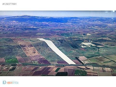 Manyas'ta 500 Dönüm Tek Tapu Asfalta Cephe Yatırımlık Arazi.