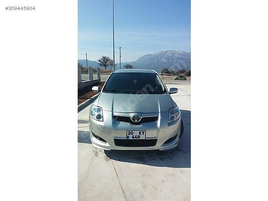 toyota auris 1.4 d-4d blue 2008 model 36.250 tl sahibinden satılık