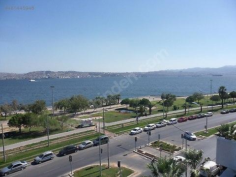 Karşıyaka Sahilde Full Deniz Manzaralı Otoparklı...