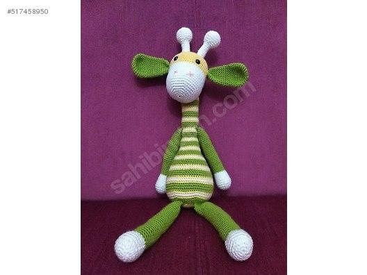 Amigurumi Zürafa Yapımı : Knitted toys amigurumi zürafa amigurumi at sahibinden