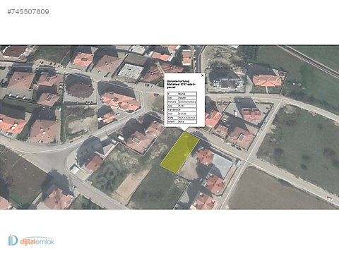 Görükle'de Ruhsatı Alınmış 832 m2 Satılık Konut İmarlı Arsa.