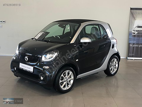 Mengerler Ankara-SMART EQ FORTWO PASSİON 2018 MODEL