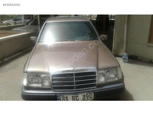 mercedes - benz 300 300 td 1987 model 35.000 tl galeriden satılık