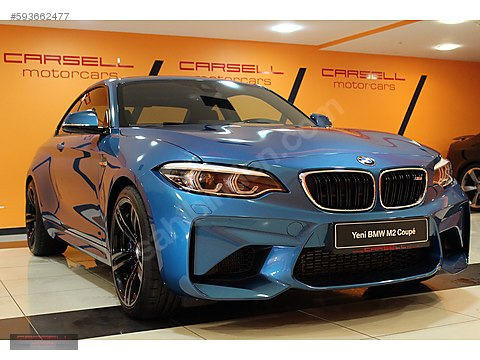CARSELL BORUSAN YENİ BMW M 2 COUPE 3.0 370 HP FACELİFT 1.700 KM