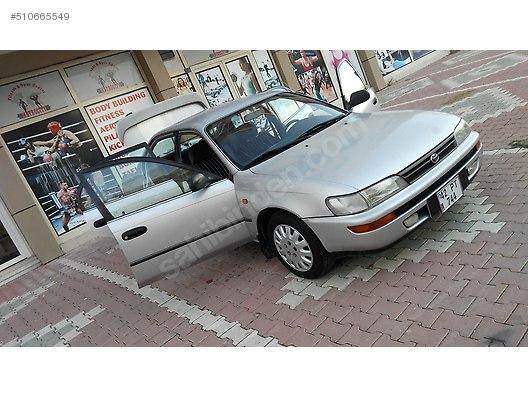 toyota corolla 1.6 gli 1996 model 29.750 tl sahibinden satılık