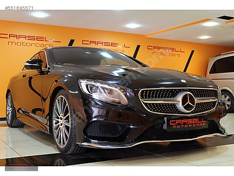 CARSELL 2014 MERCEDES S 500 COUPE 4 MATİC AMG