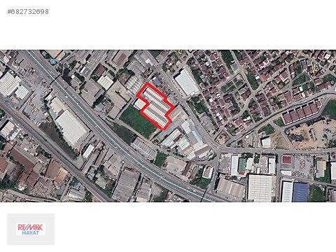 GÜZEL LOKASYONDA E-5'e İKİNCİ PARSEL DEPO/FABRİKA