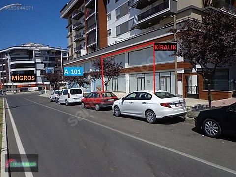 Bizim Emlak-Cengiz Topel Cad.de 600 m2 Kiralık...