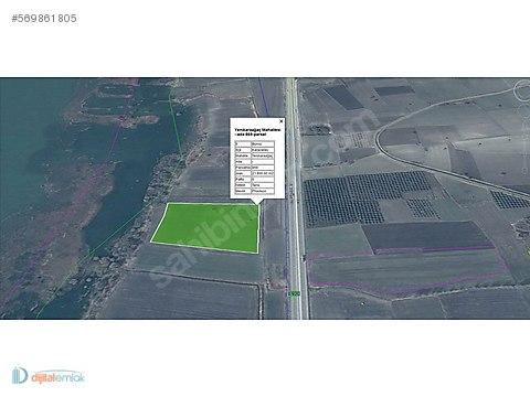İzmir yoluna yakın Yola cephe 21.800 m2 Acil Satılık Arazi.