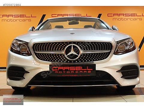 CARSELL BAYİ ÇIKIŞLI 2017 MERCEDES E 300 AMG CABRİO