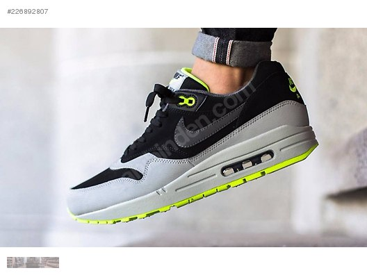 cheap for discount 992f9 c40fd NIKE AIR MAX 1 LTR BLACK DARK GREY SILVER VOLT 654466 007  226892807