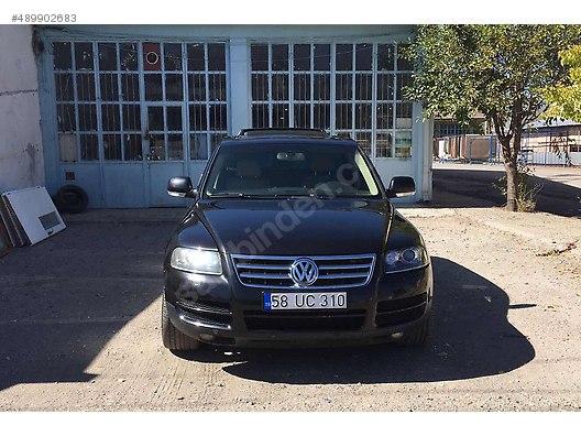 2006 volkswagen touareg 2.5 tdi 80.000 tl sahibinden satılık