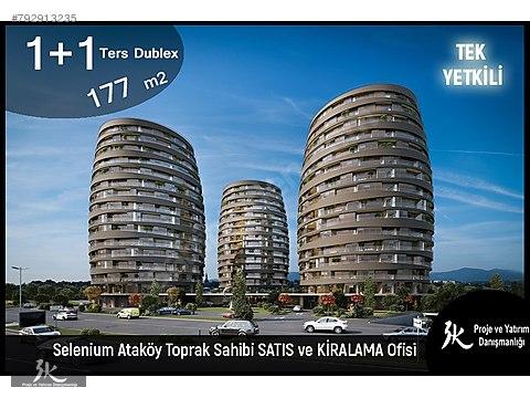 TEK YETKİLİ 3K**SELENIUM ATAKÖY'DE MUHTEŞEM TERASLI...