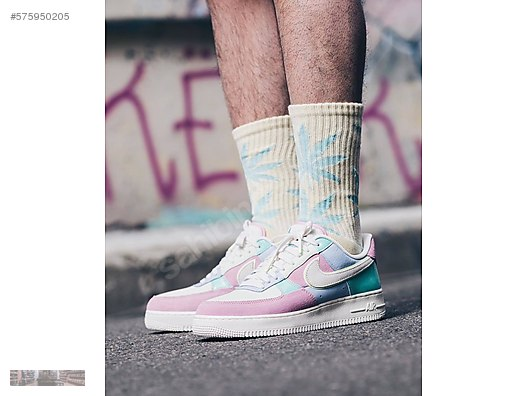 size 40 a76fe 1b999 NIKE AIR FORCE 1 LOW 07 QS EASTER PATCHWORK AH8462 400 MULTI  575950205