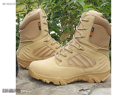 fa1950fc704c DELTA COMBAT HOMMES ARMY COMMANDO DESERT MOUNTAINEERING BOOTS  618982333